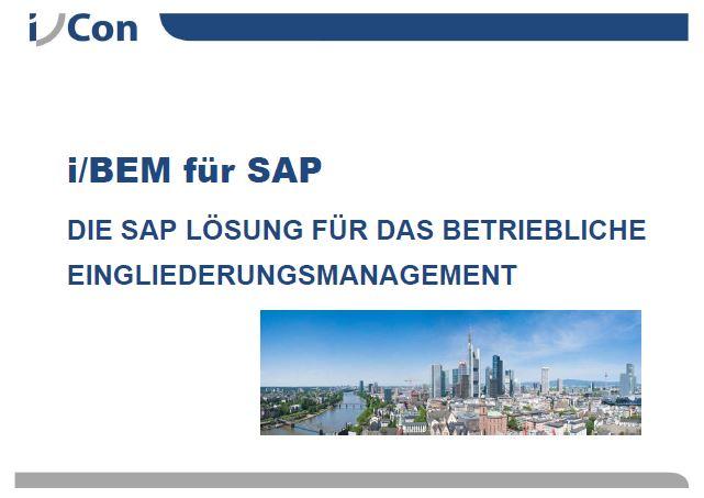 Präsentation i/BEM Betriebliches Eingliederungsmanagement