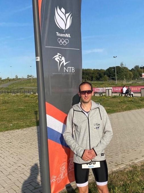 Björn Maas bei Paratriathlon
